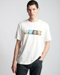 0 Horizontal Seasons - T-Shirt White Q1SSG2ELF9 Element