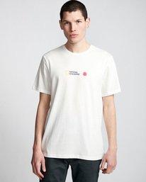 0 Quadrant Seasons - T-Shirt White Q1SSG3ELF9 Element