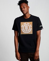 0 Dunes Icon - T-Shirt Black Q1SSG4ELF9 Element