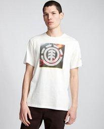 0 Surge Icon - T-Shirt White Q1SSG5ELF9 Element