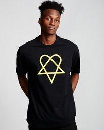 0 Margera - T-Shirt Black Q1SSG8ELF9 Element