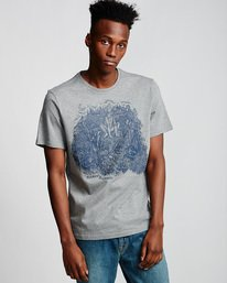 0 Howl - T-Shirt für Männer Grau Q1SSH5ELF9 Element