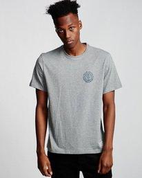 0 Too Late Logo - T-Shirt Grey Q1SSH9ELF9 Element