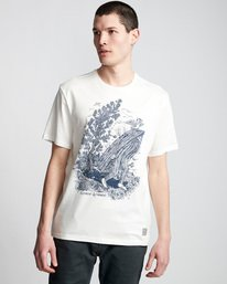 0 Find Water - T-Shirt pour Homme Blanc Q1SSI1ELF9 Element