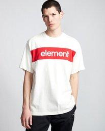 0 Primo Flag - T-Shirt White Q1SSI2ELF9 Element
