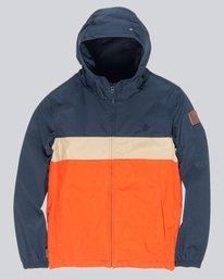 0 Alder 3Tones Boy - Giacca con cappuccio da Ragazzo Orange Q2JKA9ELF9 Element