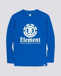 0 Vertical Boy - Long Sleeve T-Shirt Blue Q2LSA2ELF9 Element