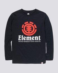 Ni/ños Element Blazin LS Tops de Manga Larga