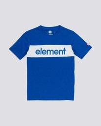 0 Primo Flag Boy - T-Shirt Blue Q2SSA2ELF9 Element