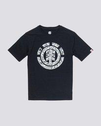 0 Multi Icon Boy - T-Shirt Black Q2SSA6ELF9 Element