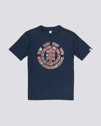 0 Multi Icon Boy - Camiseta para Chicos Azul Q2SSA6ELF9 Element