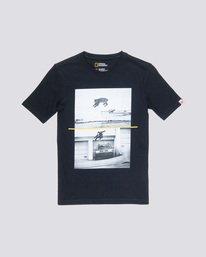 0 Bobcat Westgate Boy - T-Shirt Black Q2SSC6ELF9 Element