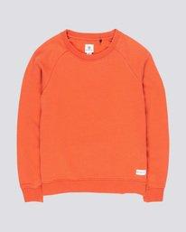 0 Neon Logic - Sweatshirt Orange Q3CRA3ELF9 Element