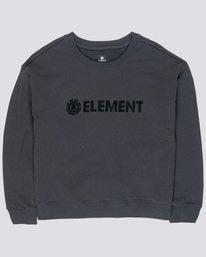 0 Logo - Sweatshirt Black Q3FLA1ELF9 Element