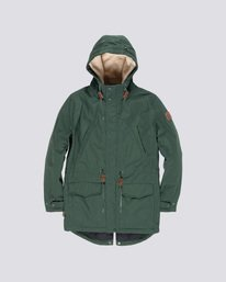 0 Roghan - Parka Green Q3JKA2ELF9 Element