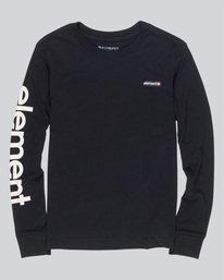 0 Primo - T-Shirt à manches longues pour Femme Noir Q3LSA7ELF9 Element