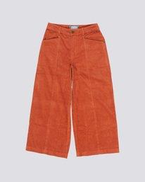 0 Wide Awake - Wide Leg Corduroy Trousers Orange Q3PTA4ELF9 Element