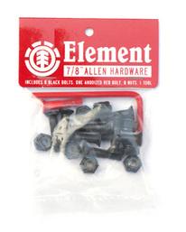 0 Allen Hdwr 7-8 Inch - Skate Accessories Black Q4AHA8ELF9 Element