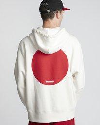 0 Primo Tokyo Dot - Felpa da Uomo White S1HOA7ELP0 Element