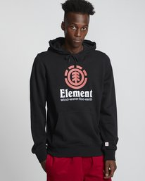 0 Vertical - Sweat à capuche pour Homme Noir S1HOB1ELP0 Element