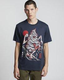 0 Tree Ghost - Short Sleeve T-Shirt for Men Purple S1SSD2ELP0 Element