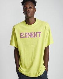 0 Tetsunori Tawaraya Lettering - Short Sleeve T-Shirt for Men  S1SSE2ELP0 Element