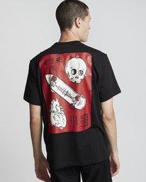 0 Love Passion Death - Short Sleeve T-Shirt for Men Black S1SSF5ELP0 Element