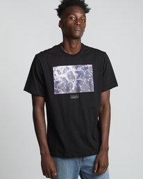 0 National Geographic Micro - Organic Cotton Short Sleeve T-Shirt for Men Black S1SSH4ELP0 Element