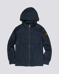 0 Dulcey Light - Water-Resistant Jacket for Boys Blue S2JKA1ELP0 Element