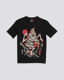 0 Tree Ghost - Short Sleeve T-Shirt for Boys Black S2SSA1ELP0 Element