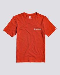 0 Blazin Chest - Short Sleeve T-Shirt for Boys Red S2SSA2ELP0 Element