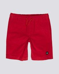 """0 Vacation 19"""" - Pantalones cortos para Niño Rojo S2WKA2ELP0 Element"""