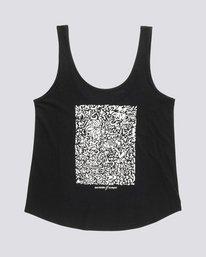 0 Bad Brains Low - Organic Cotton Vest Top for Women Black S3SGA6ELP0 Element