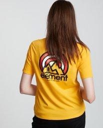 2 Branded - Camiseta de manga corta de algodón orgánico para Mujer Plateado S3SSA2ELP0 Element