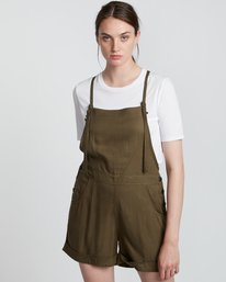 1 Rose Overall - Mono para Mujer Verde S3WKA1ELP0 Element