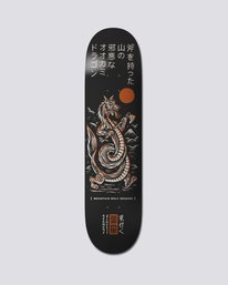 "0 8.25"" Timber Wolf Dragon - Skate Decks  S4DCC1ELP0 Element"