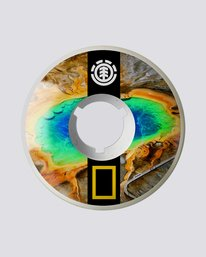 0 Nat Geo Prismatic 54Mm - Skate Accessories  S4WHA4ELP0 Element