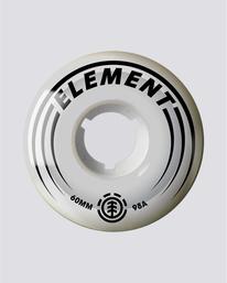 0 Filmer 60mm - Accessoires de skate Blanc S4WHB5ELP0 Element