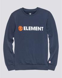 0 Blazin - Sweatshirt for Men Blue U1CRA1ELF0 Element