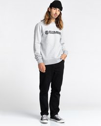 2 Blazin - Sweatshirt for Men Grey U1CRA1ELF0 Element