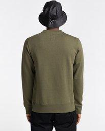 3 Blazin Chest - Sweatshirt for Men Green U1CRA3ELF0 Element