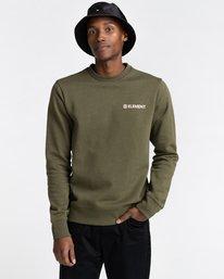 1 Blazin Chest - Sweatshirt for Men Green U1CRA3ELF0 Element