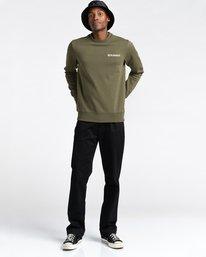 2 Blazin Chest - Sweatshirt for Men Green U1CRA3ELF0 Element