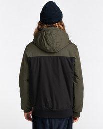 6 Wolfeboro Dulcey Two Tones - Water-Resistant Jacket for Men Black U1JKC2ELF0 Element