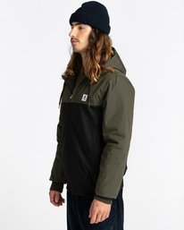 2 Wolfeboro Dulcey Two Tones - Water-Resistant Jacket for Men Black U1JKC2ELF0 Element