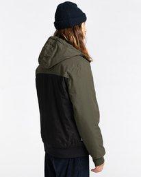3 Wolfeboro Dulcey Two Tones - Water-Resistant Jacket for Men Black U1JKC2ELF0 Element