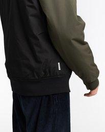 4 Wolfeboro Dulcey Two Tones - Water-Resistant Jacket for Men Black U1JKC2ELF0 Element