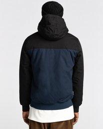 7 Wolfeboro Dulcey Two Tones - Water-Resistant Jacket for Men Blue U1JKC2ELF0 Element