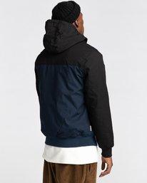 3 Wolfeboro Dulcey Two Tones - Water-Resistant Jacket for Men Blue U1JKC2ELF0 Element