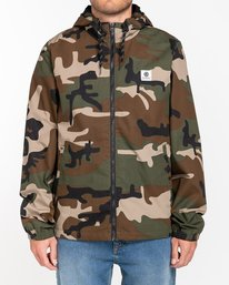 0 Wolfeboro Alder - Water-Resistant Jacket for Men Camo U1JKC3ELF0 Element
